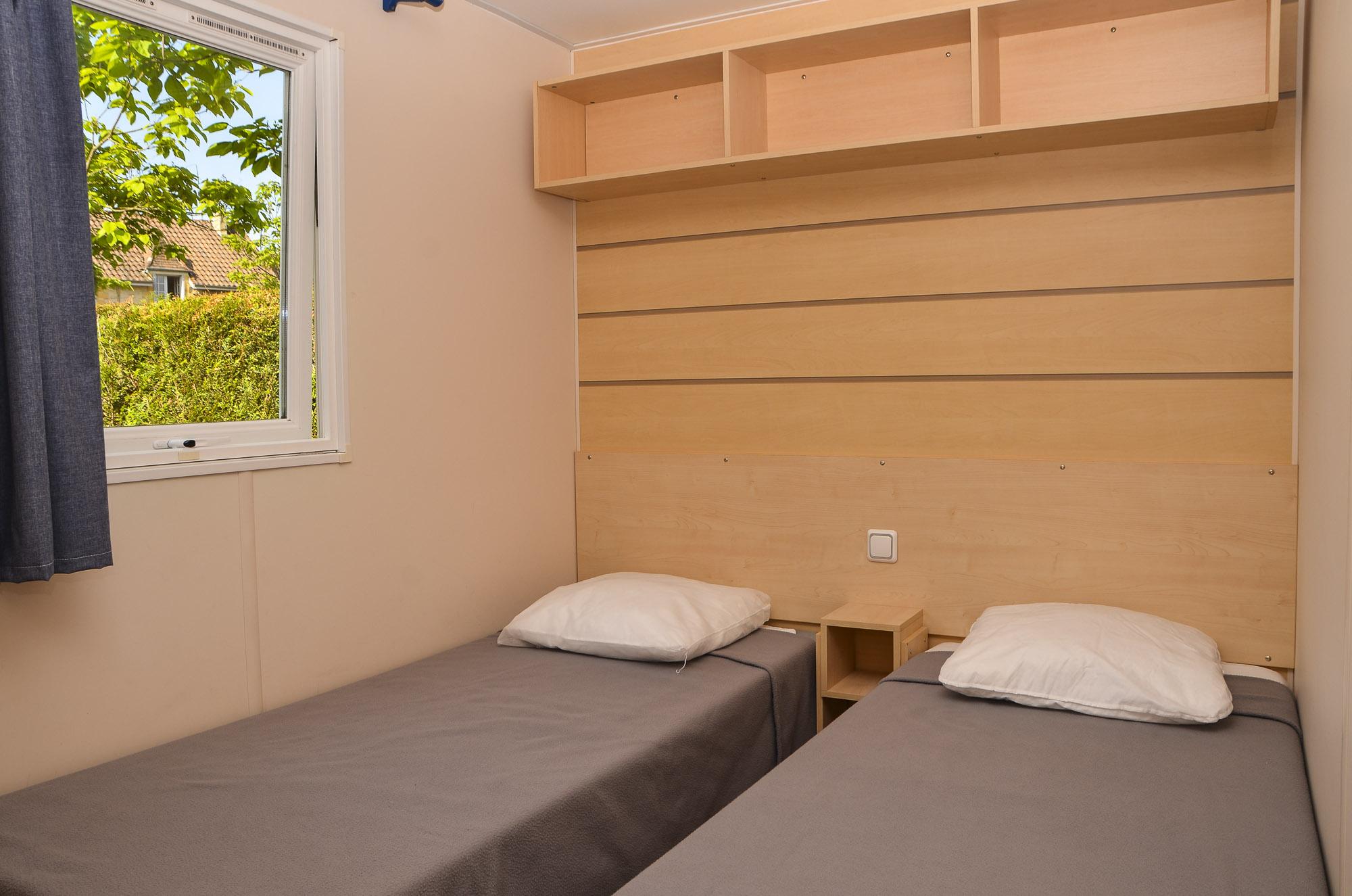Chambre Mobil Home Camping Le Garrit Dordogne Périgord Noir