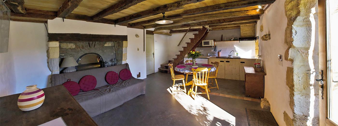 Gite Four à Pain intérieur Dordogne Périgord Noir