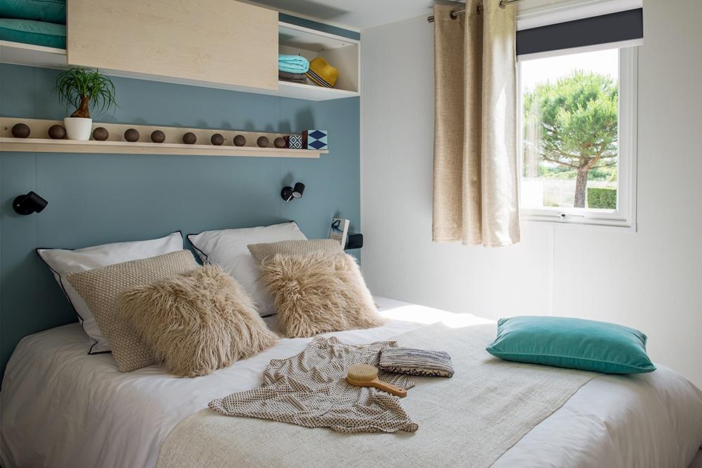 mobil-home 3 chambres double à Saint Cyprien