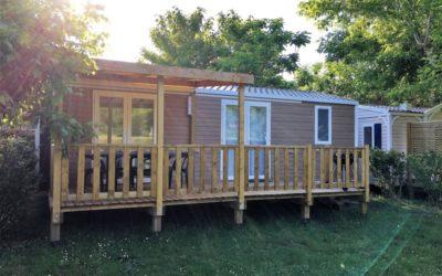 Trois nouveaux hébergements bientôt au Camping
