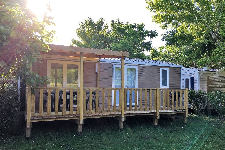 Mobilhome Camping 3 étoiles Dordogne