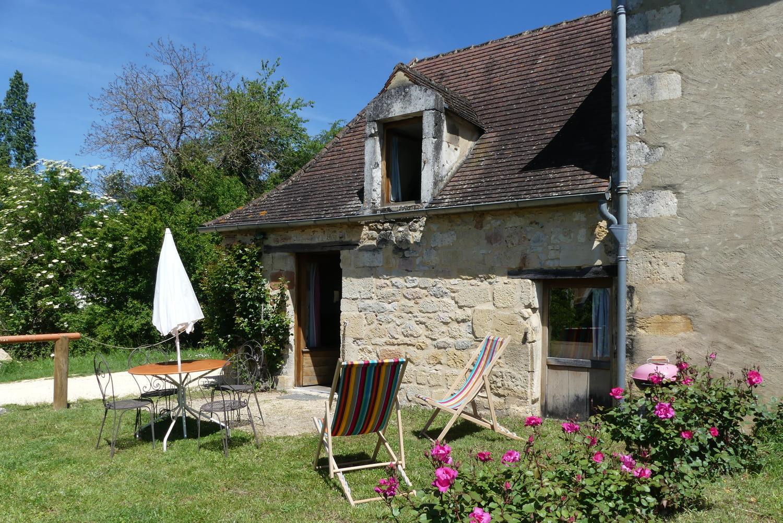 Gîte en bord de Dordogne