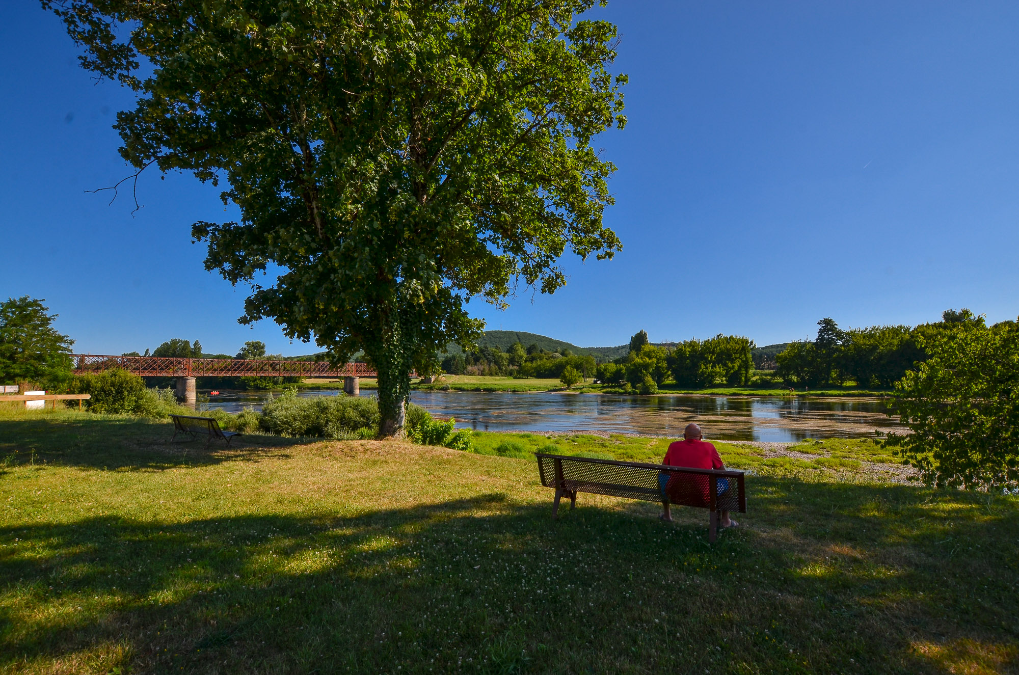 campsite in Dordogne