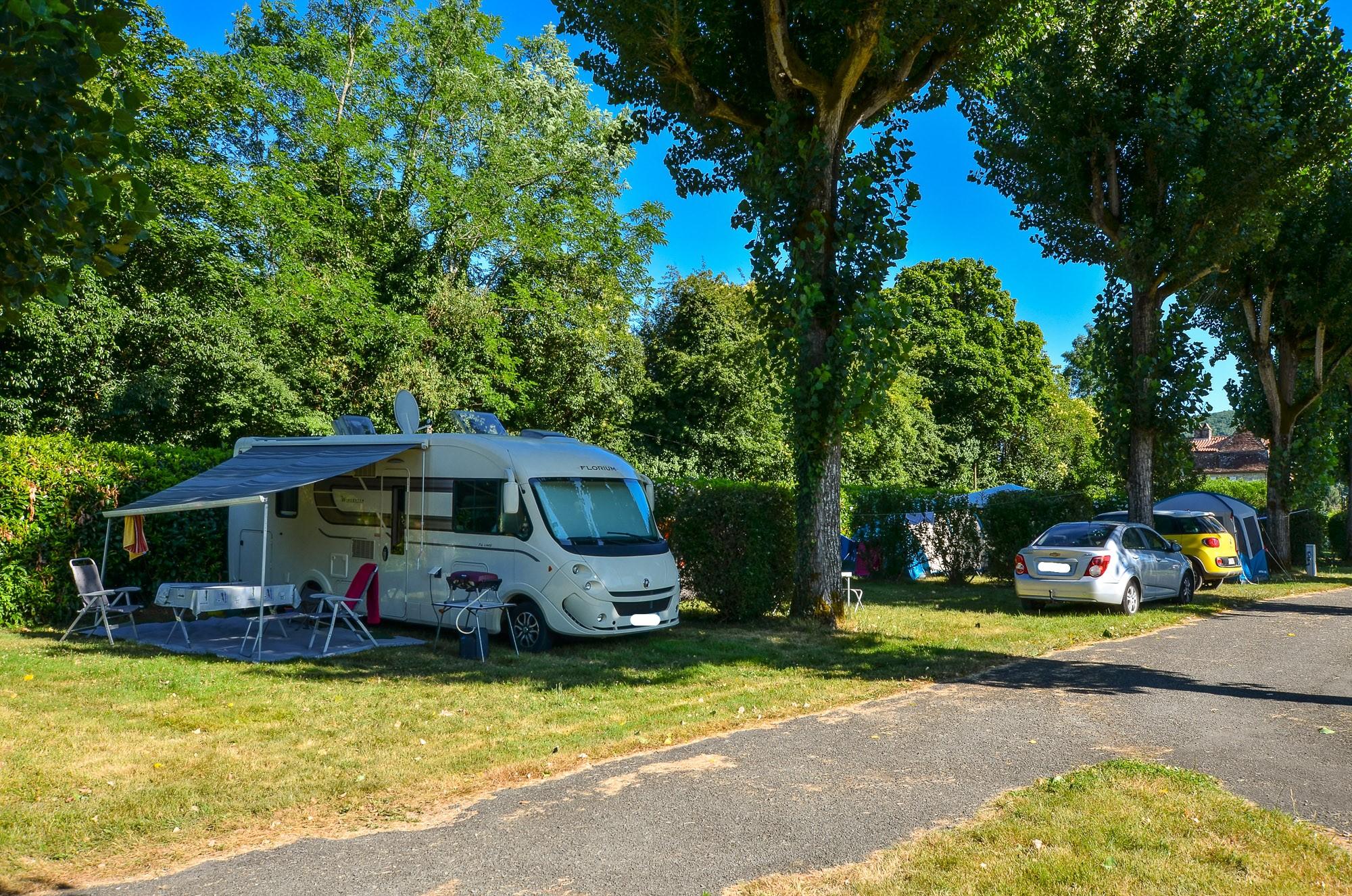 Emplacements Dordogne 3 étoiles
