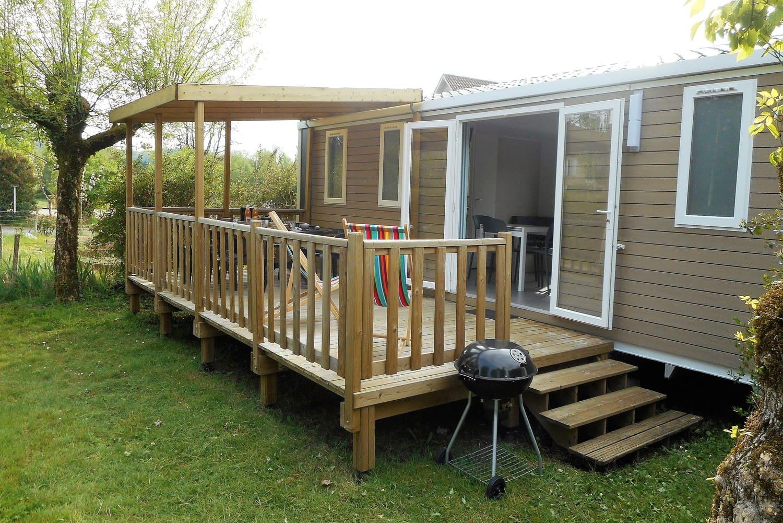 mobile home 3 bedrooms Campsite in Dordogne
